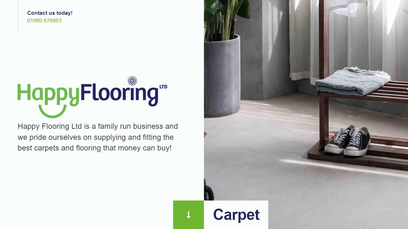 Happy Flooring Website Preview