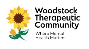 Woodstock therapeutic community logo design.