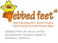 iPhone app Webbed Feet UK