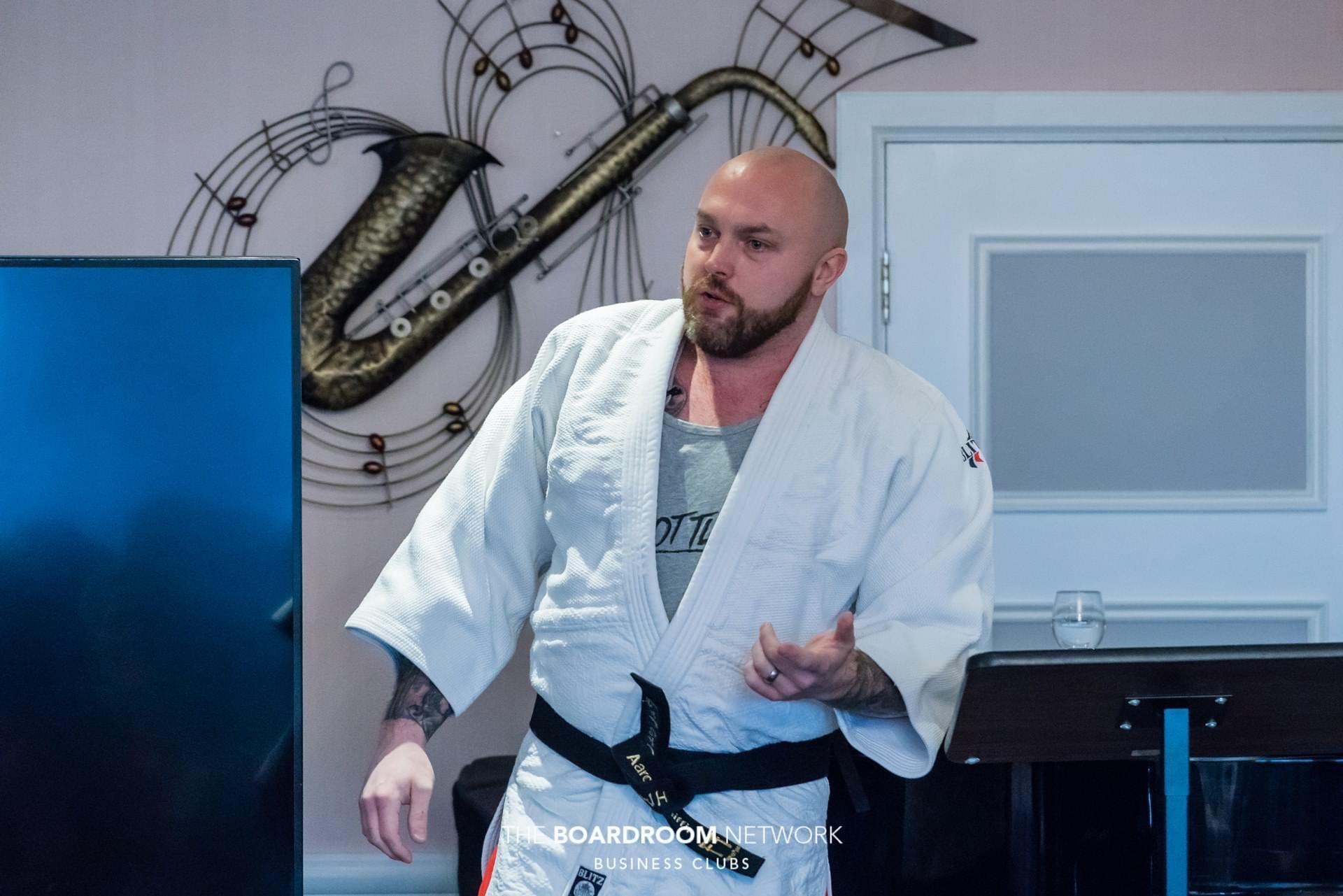 Judo presentation at The Boardroom Network