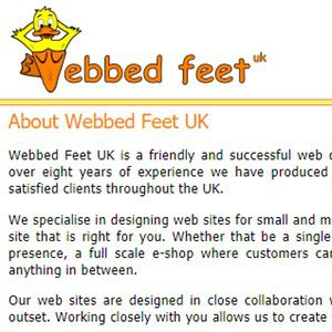 Webbed Feet 2002