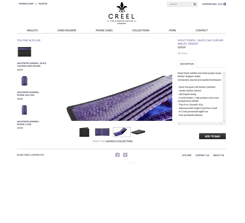 Creel Leather