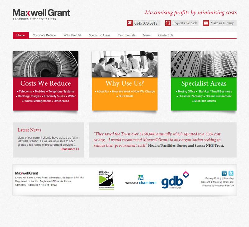 Maxwell Grant