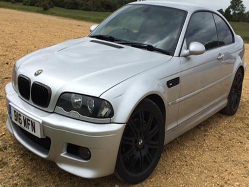 Skewed image of BMW