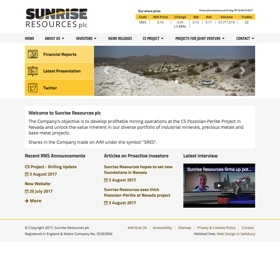 Sunrise Resources plc