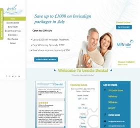 Website design before