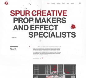 Website design after