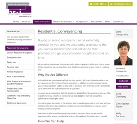 Conveyancing design