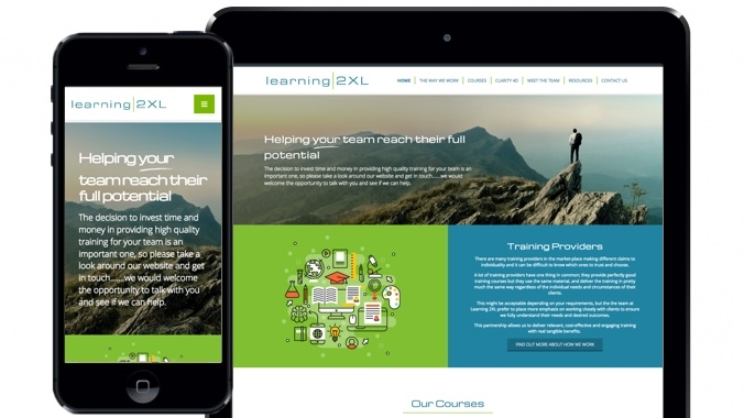 Business Training & Public Sector Website Design