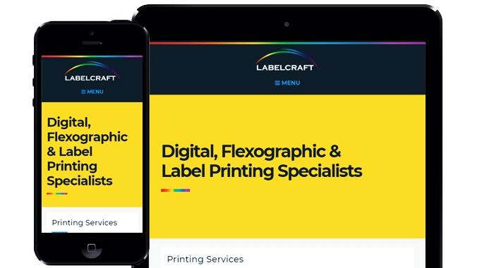 Printing Services Website Design