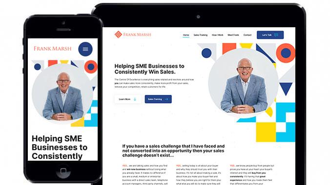 Frank Marsh Sales Training Website