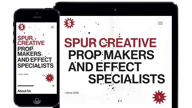 Spur Creative Website